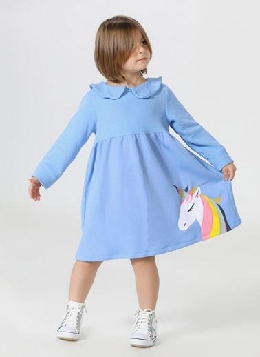 Lupiakids Unicolor Yakalı Elbise Renkli